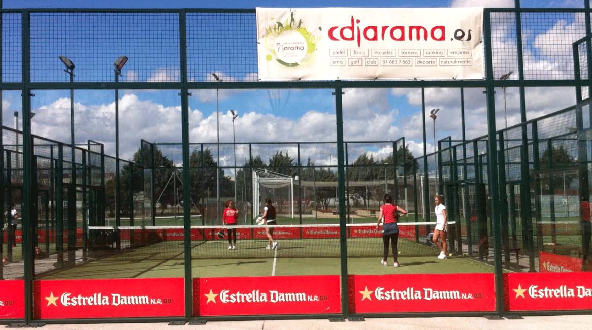 Entrenando equipos de padel y tenis club tenis y p del for Padel san sebastian de los reyes