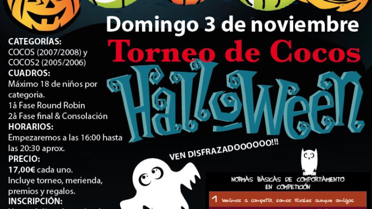 TORNEO DE TENIS HALLOWEEN PARA PEQUES (COCOS, COCOS2)