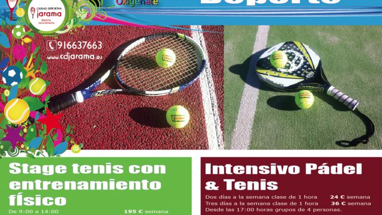 VERANO 2014 DE DEPORTE, tenis, pádel, speedgoal,…