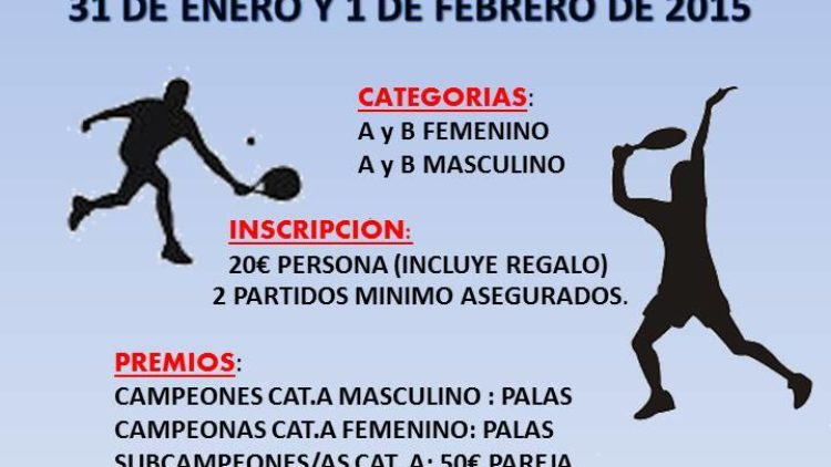 I Torneo de Padel Ciudad Deportiva Jarama