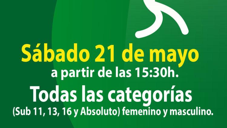 Torneo social de tenis para todos: 21 de mayo