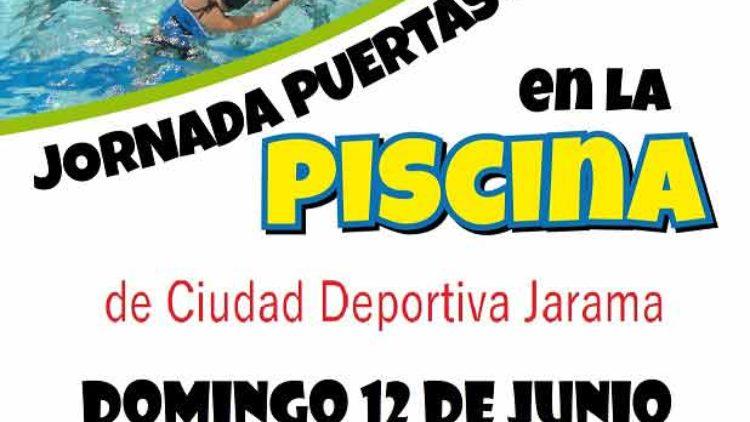 Inicio temporada de piscina en Ciudad Deportiva Jarama