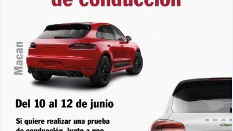 Prueba de conducción SUV de Porsche en Ciudad Deportiva Jarama