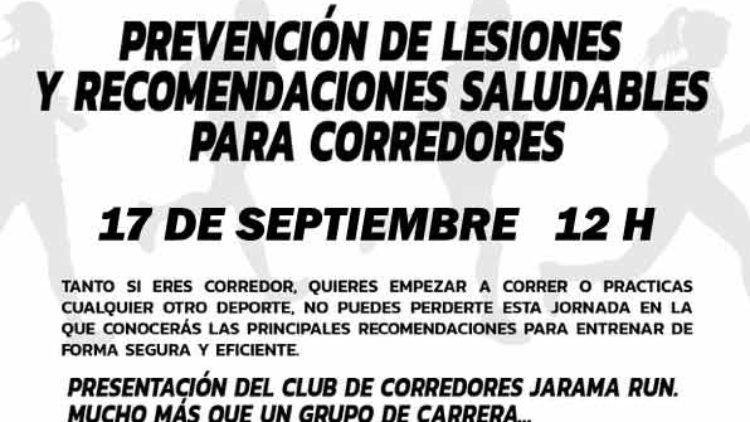 Día del corredor en Ciudad Deportiva Jarama – 17 de septiembre