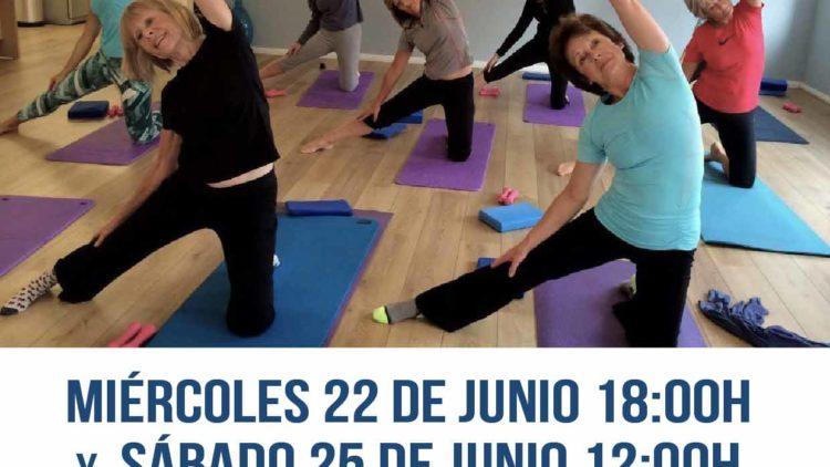 Master – class gratuita de Pilates