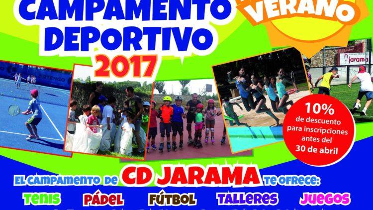 ¡Abierto el plazo de inscripción para el Campamento de Verano 2017!