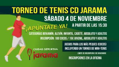Torneo social de tenis – 4 de noviembre