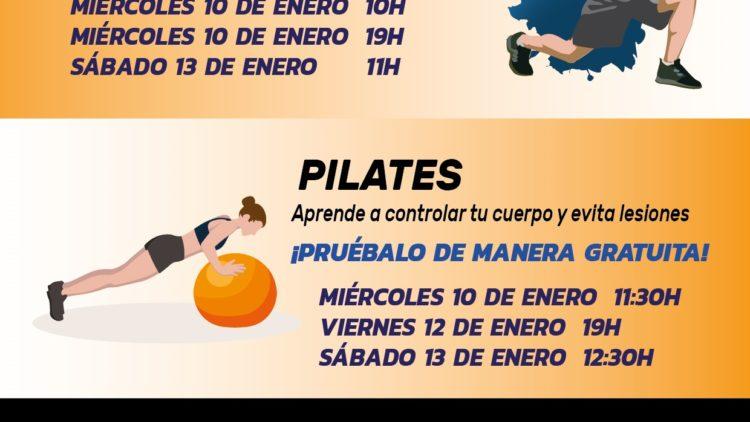Jornadas de puertas abiertas físico funcional y Pilates
