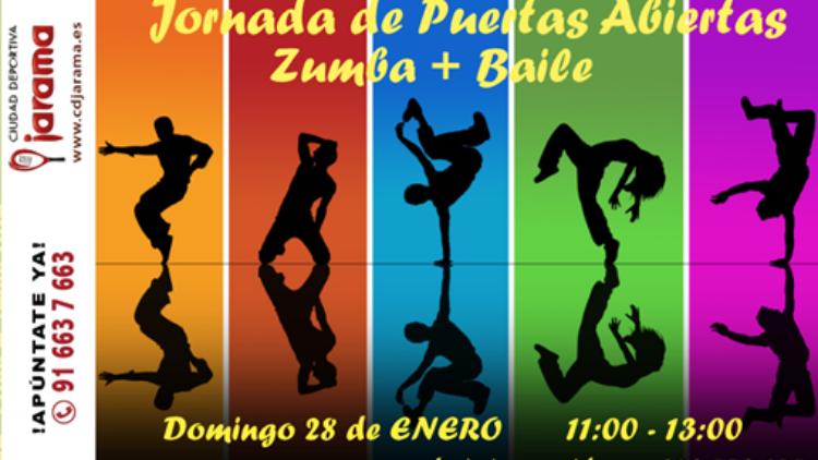 Masterclass gratuita baile y zumba – 28 de enero