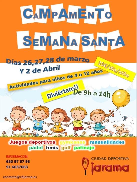 Campamento infantil de Semana Santa