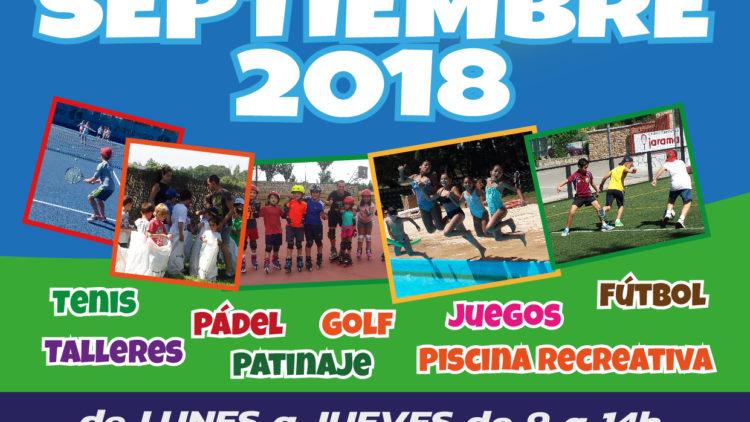 Campamento infantil de septiembre