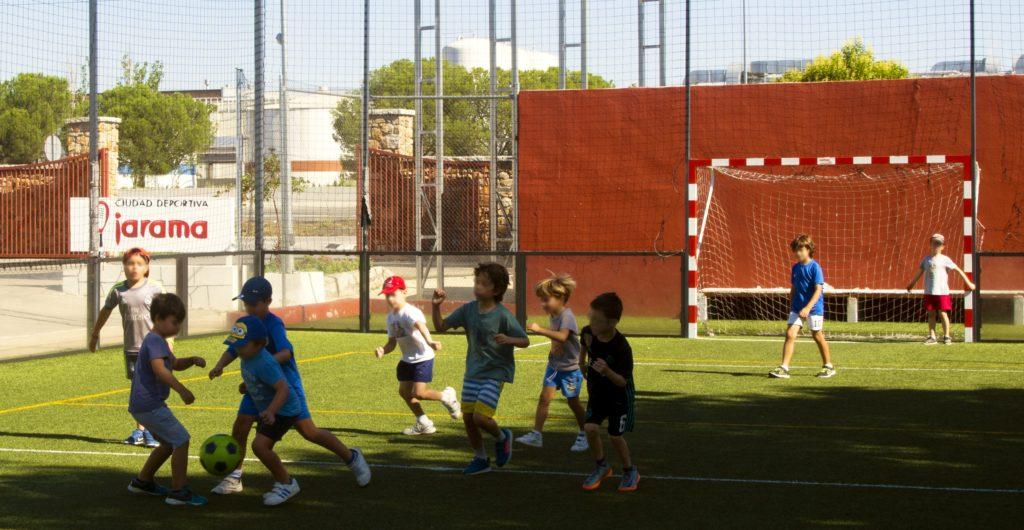 Campo de futbol Speedgoal Ciudad Deportiva Jarama