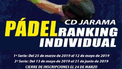 Ranking de pádel individual en Madrid