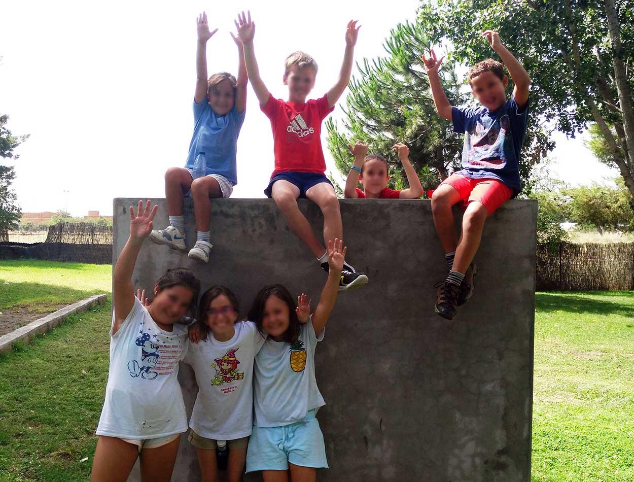 Campamento infantil de verano en CD Jarama
