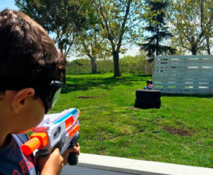 Fiestas infantiles con pistolas Nerf
