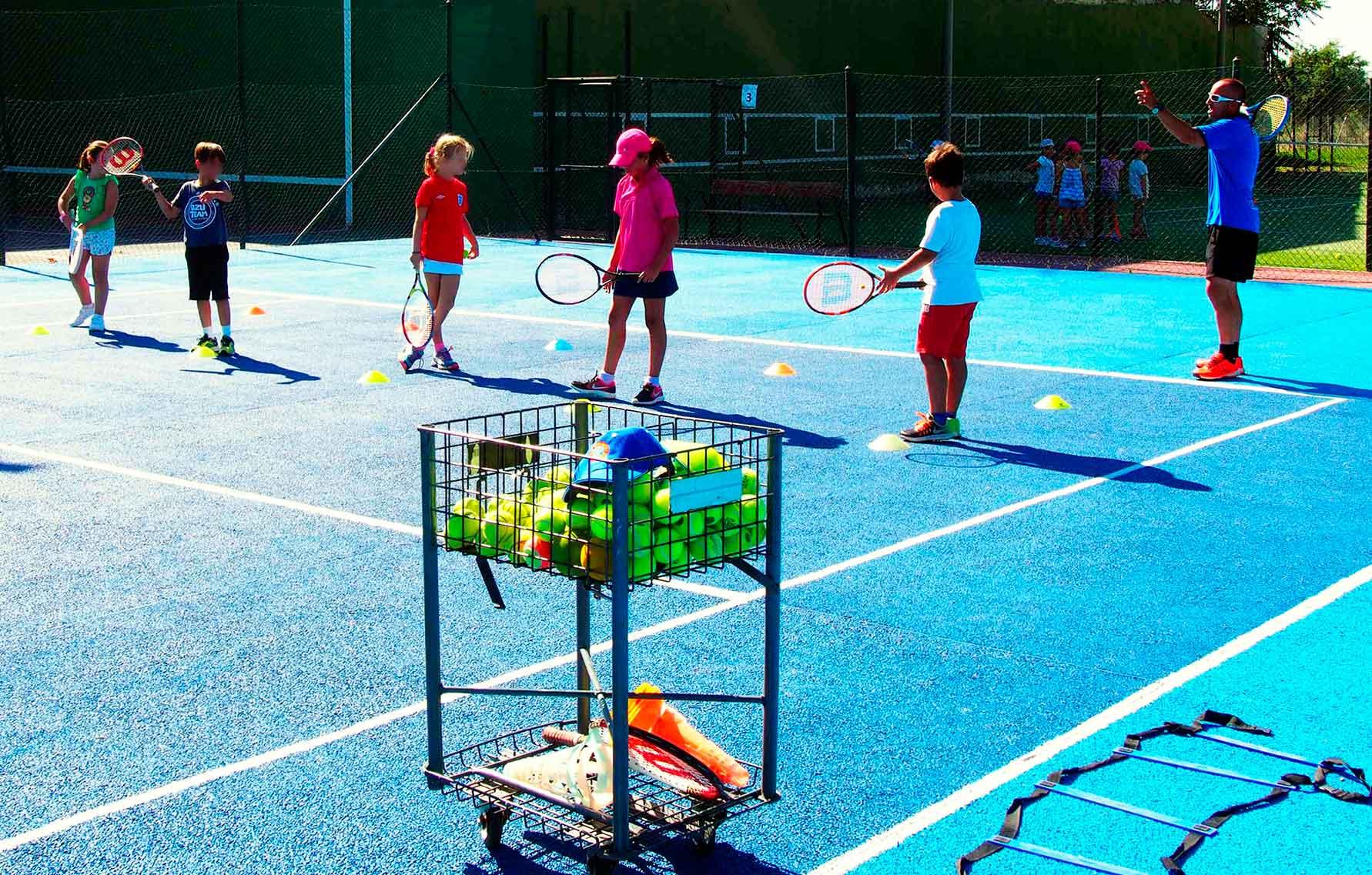 Profesores de la escuela de tenis Roberto Garcia