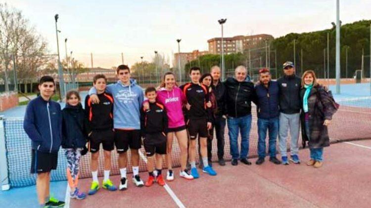 Ascenso de nuestro equipo juvenil de tenis