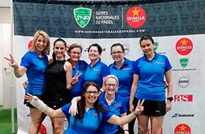 Final de la liga SNP con nuestro equipo femenino