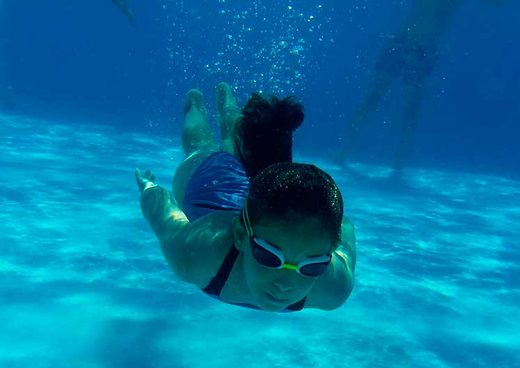 Campamento de verano 2020 piscina