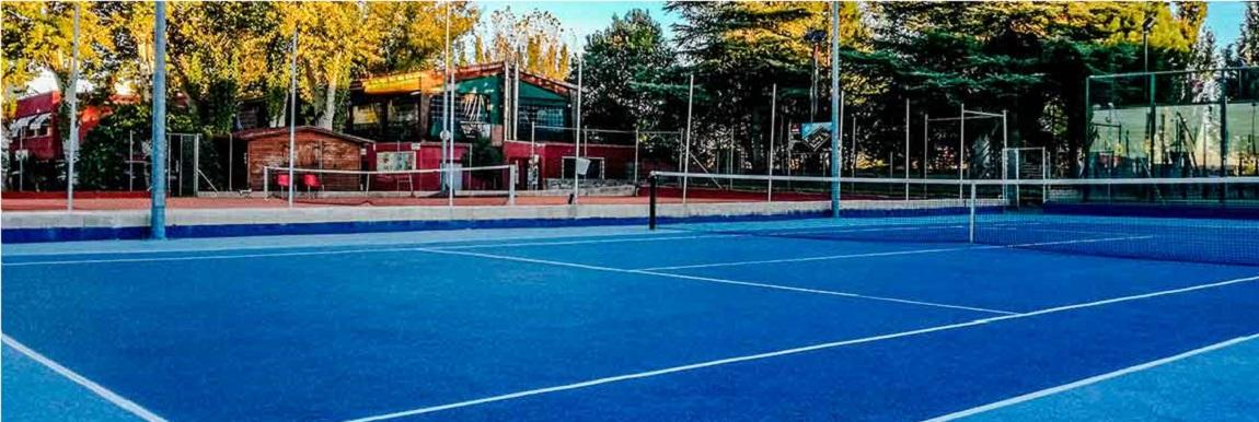 Alquiler pistas de tenis